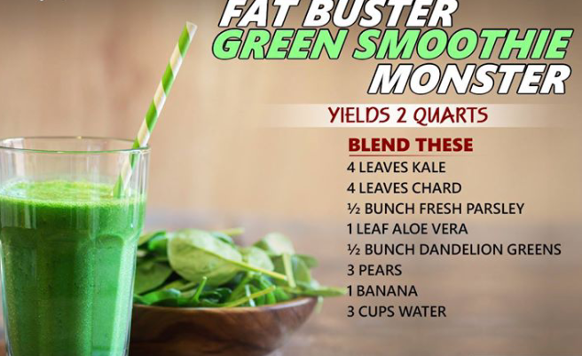green smoothie monster